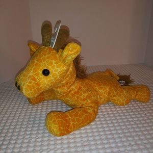 Kellytoy beanpals giraffe 18 inches long